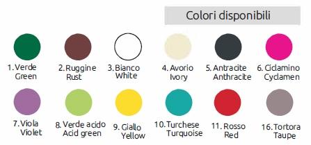 Aiakraanid värvivalik