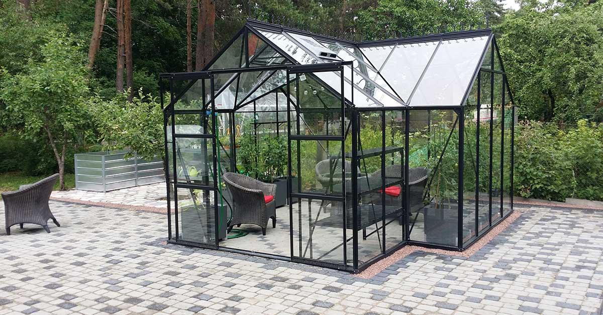 Kasvuhoone aiamaja Sirius