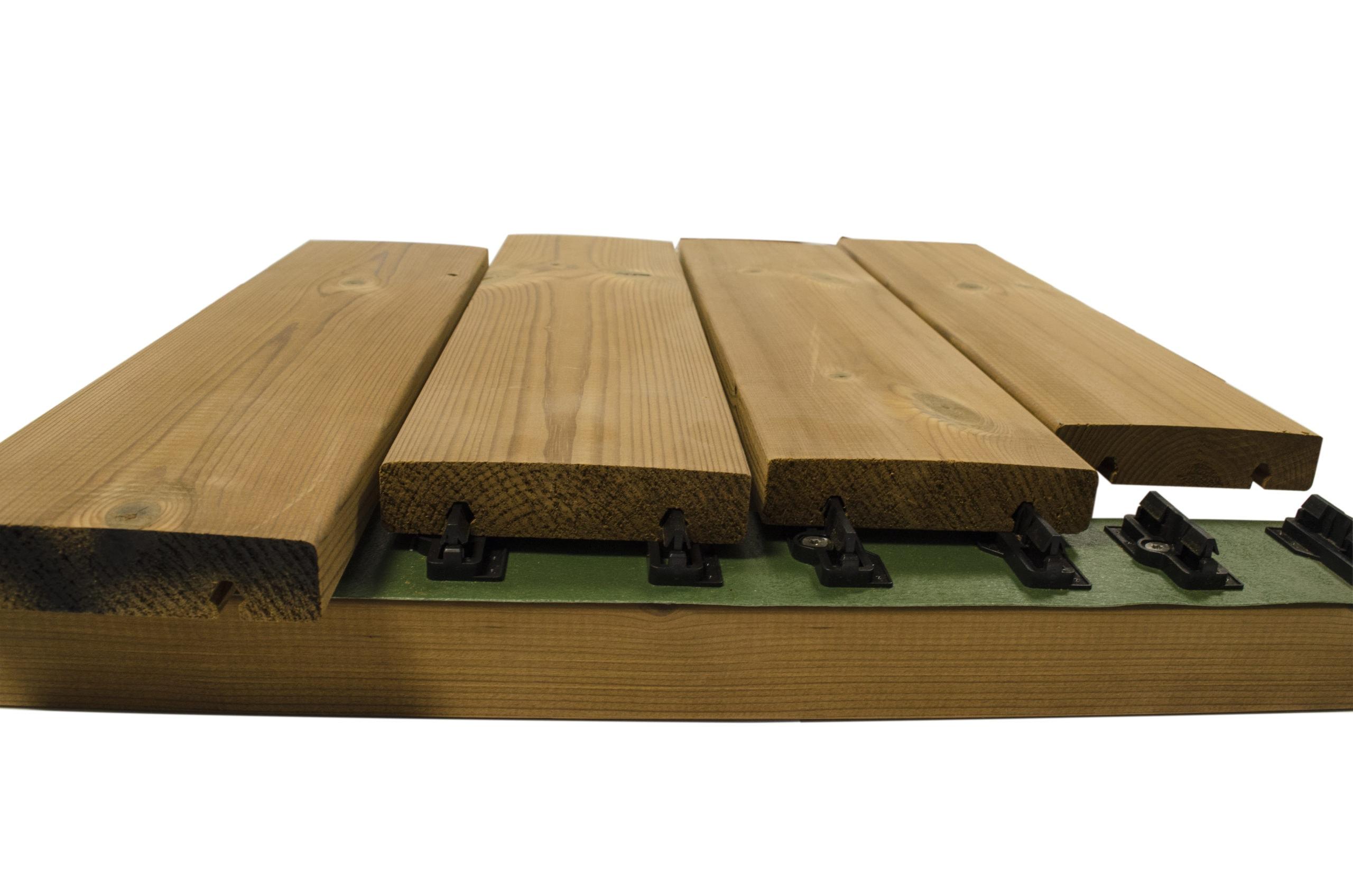 Kasvuhoone puitpõrand