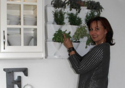 Vertikaalnselt istutaud taimed kööki