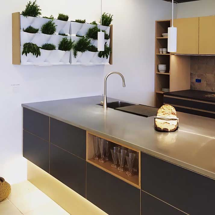 Vertikaalne peenar köögis