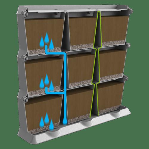 Vertikaalne peenar_kastmissüsteem